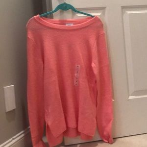 old navy Pink women's sweater